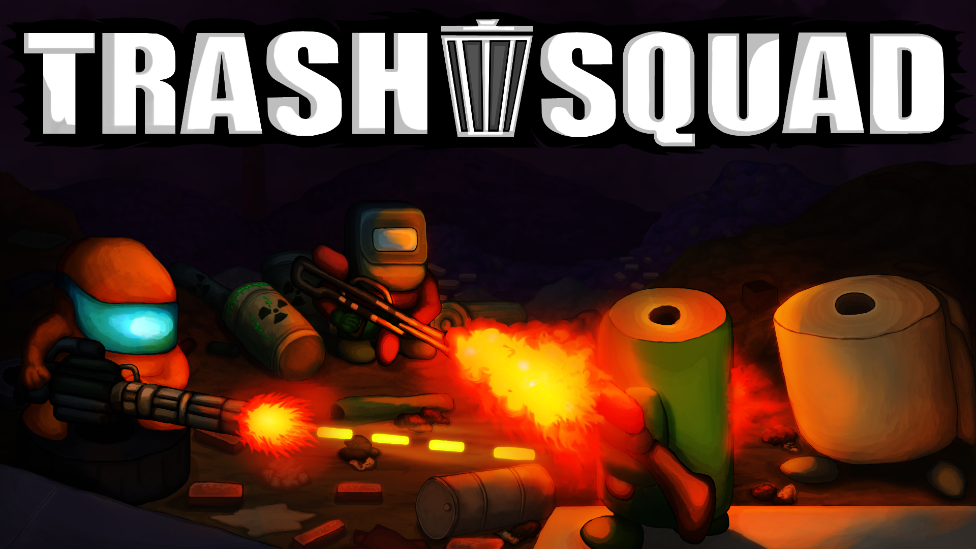 Trash Squad Cover